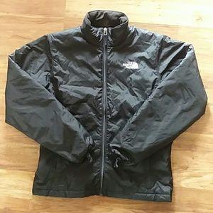 The North Face puffer coat black medium